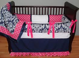 navy girl baby bedding larger image