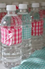 Decorating Water Bottles For Baby Shower Water Bottle Decorations Baby Bird Baby Sprinkle Kara Party 14