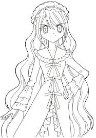 Small Picture Free printable Anime Coloring Pages Mermaid Melody T mu