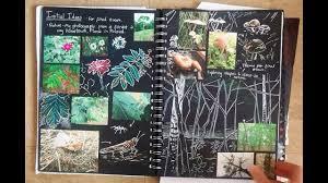 a gcse art sketchbooks