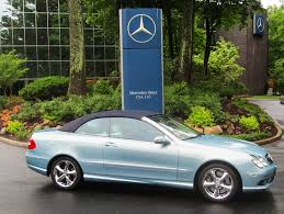 2004 Mercedes CLK500 convertible at the 2013 Mercedes June ...