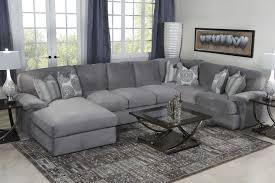 grey living room sets. key west sectional living room in gray - | mor furniture for less grey sets