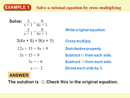 solve the equation 1 4 x 3 answer ppt