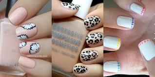 Easy Nail Art Designs For Short Nails Nail Designs For Short Nails ...