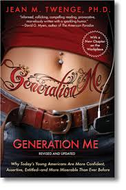 generation me the book who is part of generation me