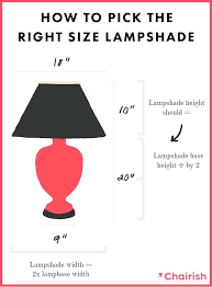 how to measure lamp shade now that got a shade in mind its time to choose how to measure lamp shade