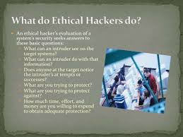 hacking ppt modes of ethical hacking