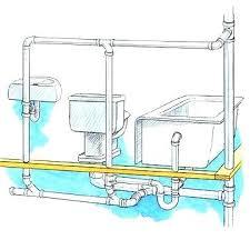 bathtub drain pipe installing tub drain plumbing leaky bathtub drain pipe option 1 enlarge image other bathtub drain pipe install