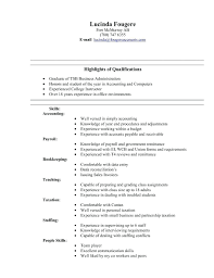 Business Administration Resume Samples resume Porter Resume 56