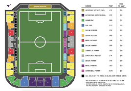 Louisville Seating Chart Football Louisville City Fc Releases Ticket Prices Virtual Seat Map