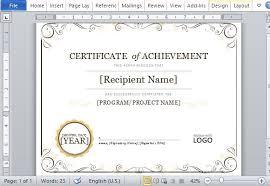 Microsoft Publisher 2010 Award Certificate Templates Microsoft