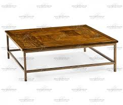 country walnut square coffee table