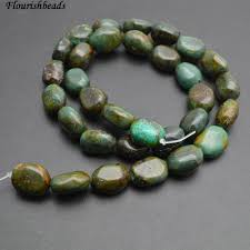2019 black veins antique green turquoise nugget stone loose beads from robinhu 24 37 dhgate com