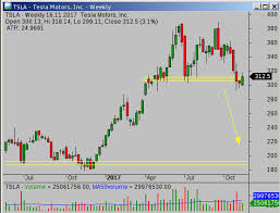 Tip Stock Chart Tsla Double Top And Poor Outlook Simple Stock Trading