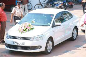 Wedding Car Decorate Decorating My Car For A Marriage Function Team Bhp