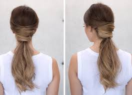 Pony Tail Hair Style criss cross ponytail hairstyle youtube 8984 by wearticles.com