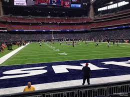 Texans Reliant Stadium Seating Chart Nrg Stadium Section 118 Houston Texans Rateyourseats Com