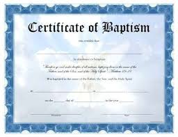 Sample Baptism Certificate Template Stunning Baptism Template Crookedroadco