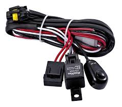 dual light wiring harness loom volt amp relay led hid light dual light wiring harness loom 12 volt 40 amp relay led hid light bar fog