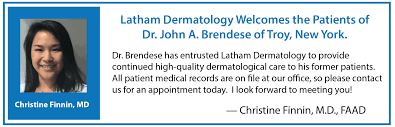 Dermatologists diagnose and treat diseases of the skin and perform cosmetic procedures, including hair removal, laser therapy, cosmetic filler injections, cryosurgery, tattoo removal, and phototherapy. Christine Finnin Md Medical Dermatology Latham Ny Latham Dermatology Welcoming Patients From Latham Newtonville And Surrounding Areas