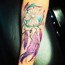 Pics Of Dream Catchers Tattoos 100 Dreamcatcher Tattoo Designs nenuno creative 39