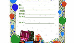 Design Your Own Birthday Party Invitations Design Your Own Birthday Card Free Printable Birthday Party