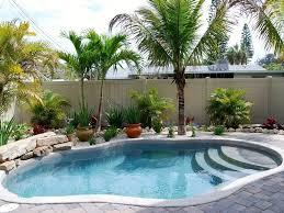 ... Attractive Pictures Of Beautiful Backyard Swimming Pool : Astonishing  Backyard Landscaping Decoration Using Light Grey Brick ...