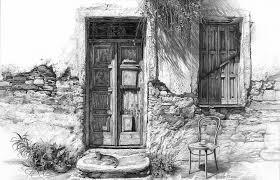 closed door drawing. Wonderful Door Drawing  Secret Of The Closed Doors By Sergey Gusarin For Door D