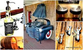 homemade man cave bar. Man Cave Furniture   Decoration Garage Ideas Homemade Bar