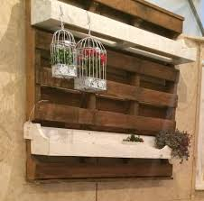 pallet ideas for walls. pallet wall planter ideas for walls p