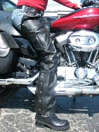 motorcycle leather half chaps uk