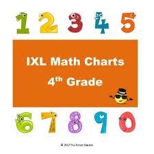 Ixl Progress Chart Ixl Math Progress Charts For 4th Grade