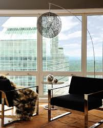 modern floor lighting. View In Gallery Fabulous Floor Lamp Ensures That The Line Of Sight Remains Unobstructed Thanks To Its Design Modern Lighting