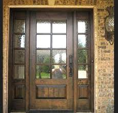 glass panel wood exterior doors winsome ideas entry with regard to wooden front panels designs 2