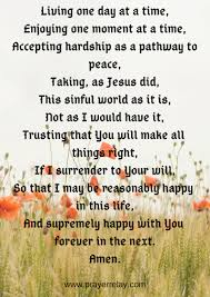 The Serenity Prayer Ultimate Guide 1 The Prayer Relay Movement