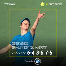 SuperTennis TV - 👊 Jannik Sinner approda ai quarti di finale del torneo di  Dubai battendo lo spagnolo Bautista Agut, n.4 del seeding! #tennis  #DDFTennis BMW Italia