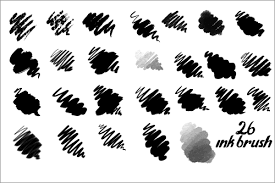 イラストレーター絵師さん向けさまざまなインクの質感で描ける