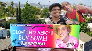 fanjoy logan paul. aerial shots of jake paul\u0027s billboard and meeting logan paul!! fanjoy logan paul a