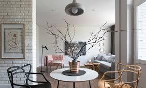 Minimalist Studio Apartment Decorated with Designer Furniture Home
