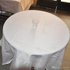 100 polyester jaquard table cloth round high quality wedding table cloth white red grey brown linen like tablecloths 70 round tablecloth from zibonet