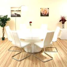 dining tables white circular dining table modern round superb for 6 circle amazing whi