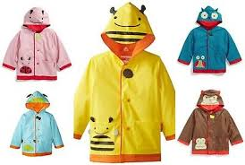 Skip Hop Raincoat Size Chart Kids Raincoats Boys Girls Poncho Kindergarten Baby Cartoon