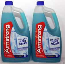 2 armstrong tile vinyl floor cleaner concentrated formula fresh scent powerful