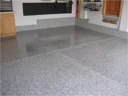 image of gray spray paint garage floor
