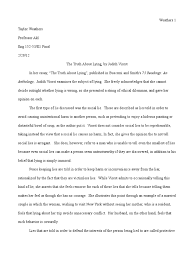summary essay lie adultery