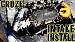 Cruze chevy cruze 1.4 turbo performance upgrades : Chevy Cruze Cold Air Intake Install 1.8 - YouTube