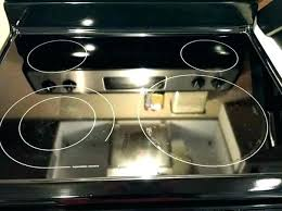 cleaning glass top stoves glass top stove glass top stove scratches what to use to clean