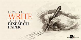 Research Paper Write How To Write That Perfect Research Paper