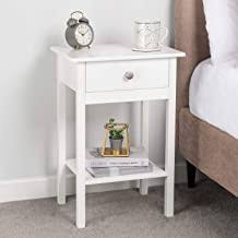 White - Bedside Tables / Bedroom Furniture: Home ... - Amazon.co.uk