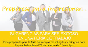 job fair tips for success spanish speaking monolingual bilingual job fair tips for success spanish speaking monolingual bilingual